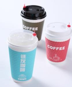 瓦楞咖啡杯
