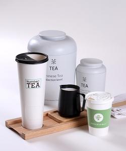 湖州加厚奶茶纸杯