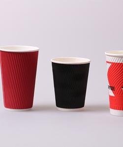 湖州瓦楞奶茶杯