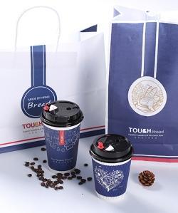 面包奶茶袋
