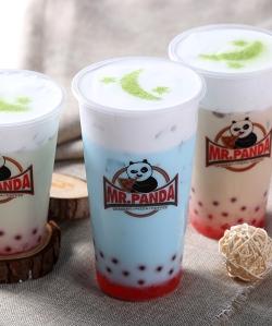 熊猫logo塑料杯